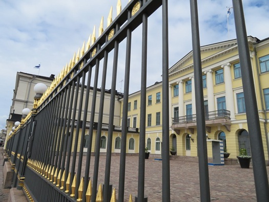 the Finnish President's palace