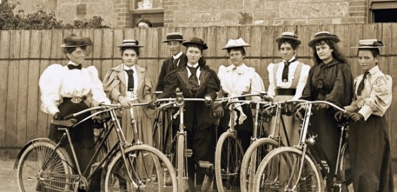 """""""Don't Scratch a Match on the Seat of Your Bloomers"""" and 46 Other Rules for Women Cyclists"""