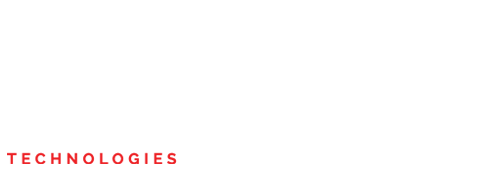 White Lone Wolf Technologies transparent text and logo