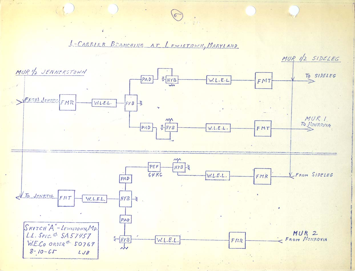 hight resolution of lewistown md l carrier branching diagram