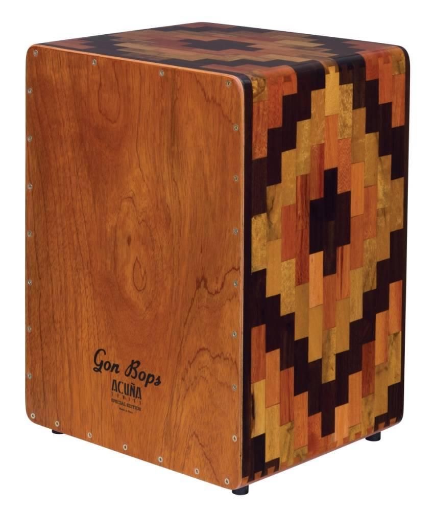 Gon Bops Alex Acuna Series Special Edition Cajon  Long