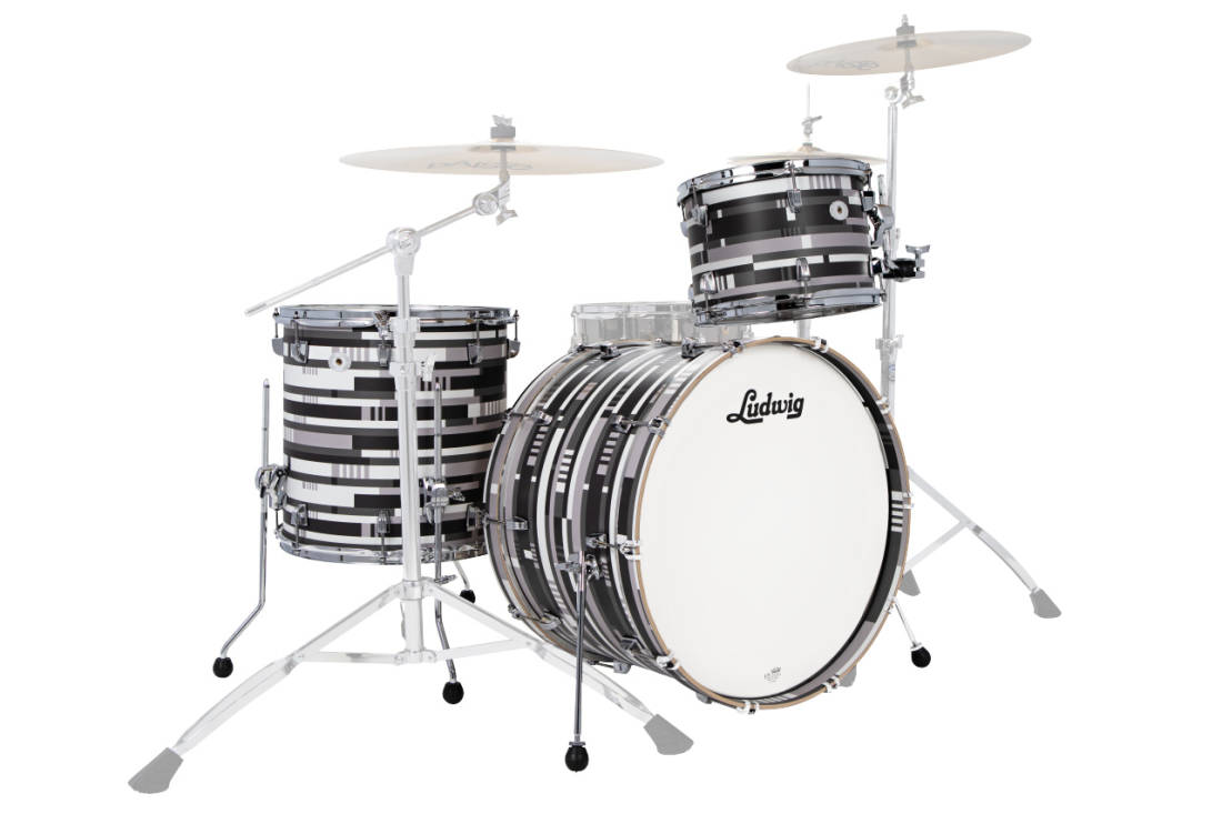 Ludwig Drums NeuSonic Fab Limited Edition 3-Piece Shell
