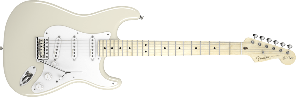 medium resolution of fender eric clapton stratocaster electric guitar olympic white long mcquade musical instruments