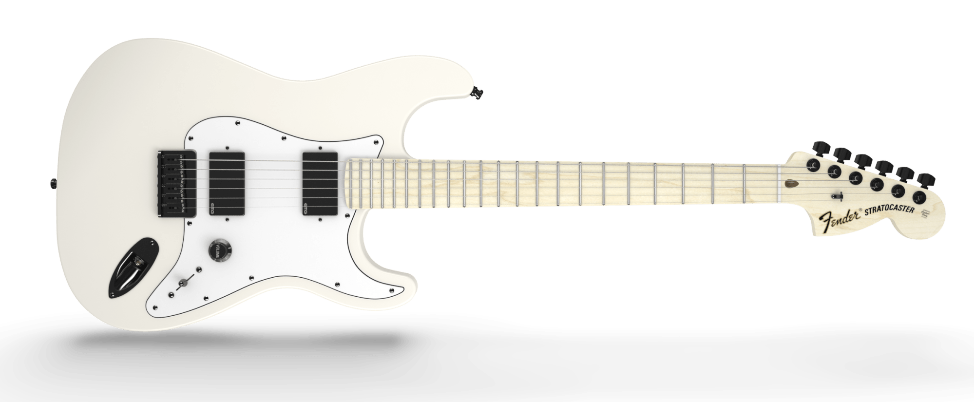 hight resolution of fender jim root signature stratocaster maple fingerboard flat white