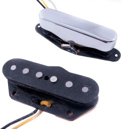 fender custom shop twisted tele pickups set of 2 long mcquade musical instruments [ 3508 x 2631 Pixel ]