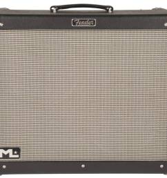 fender hot rod deville ml 212 black silver [ 1000 x 882 Pixel ]