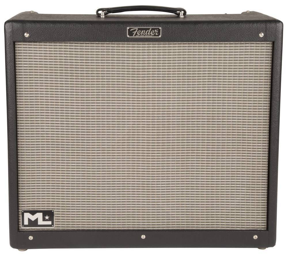 medium resolution of fender hot rod deville ml 212 black silver