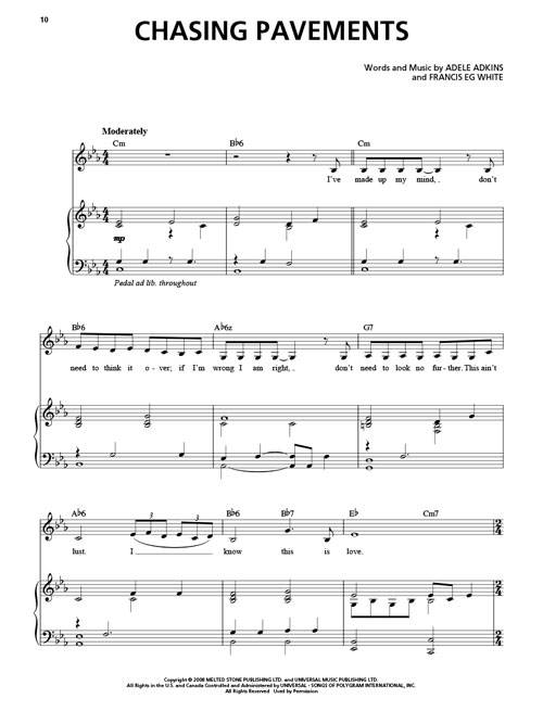 Remedy Adele Piano Chords