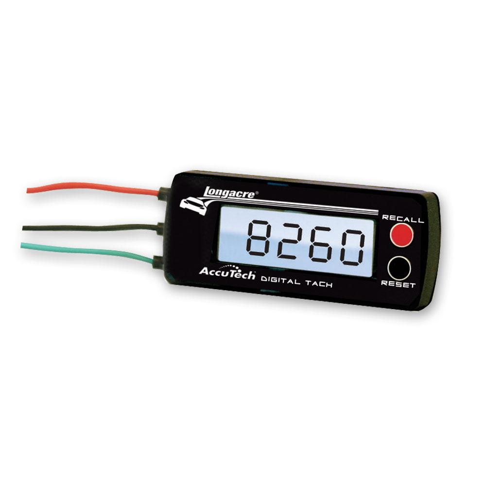 hight resolution of longacre accutech digital tachometer 44391 rh longacreracing com digital tach wiring diagram magneto dakota digital tach