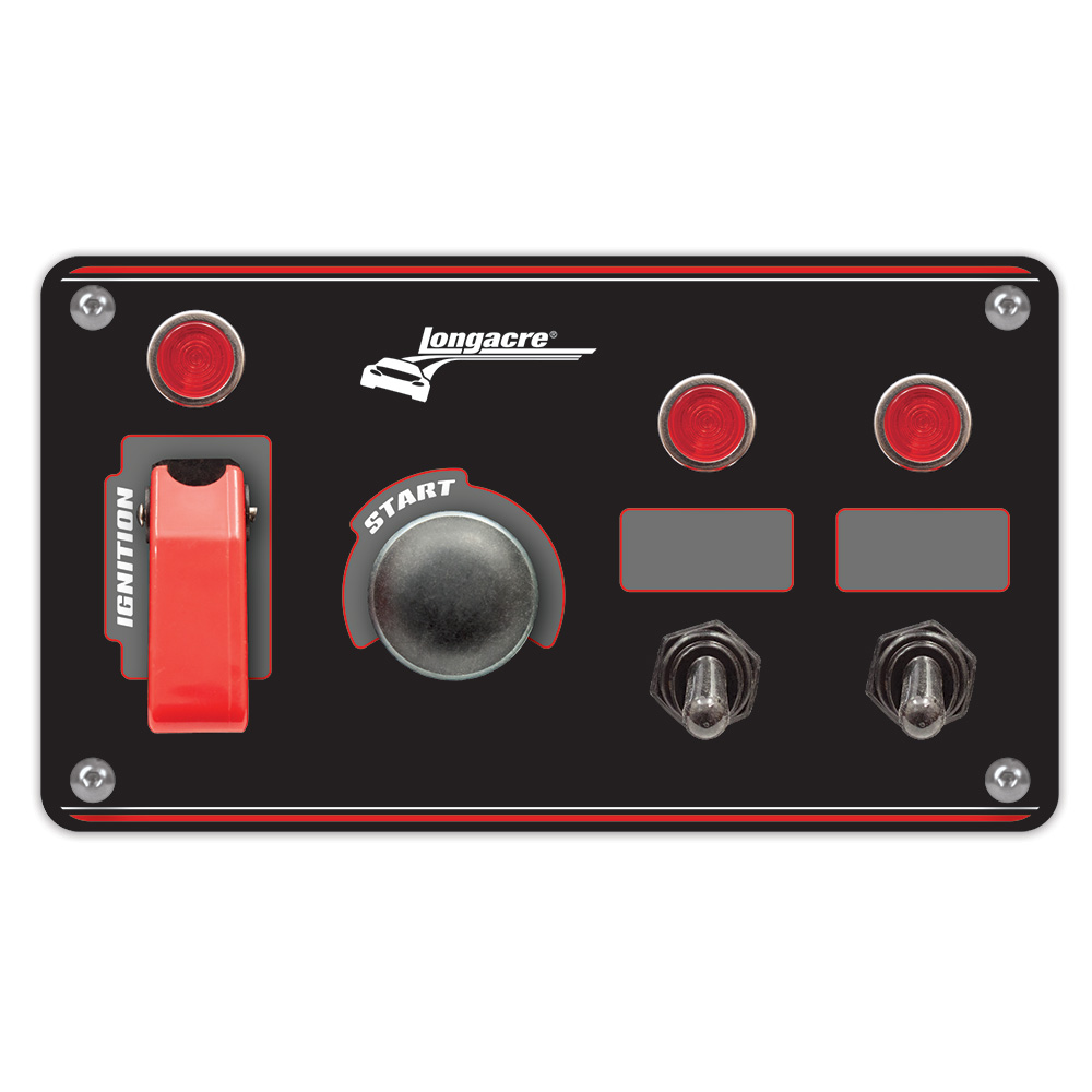 hight resolution of flip up start ignition panel w 2 acc pilot lights
