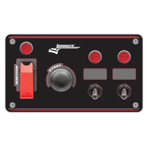 small resolution of flip up start ignition panel w 2 acc pilot lights