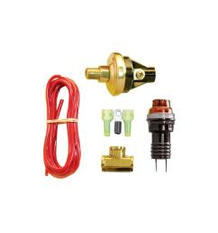 gagelites warning light kit 15 50 psi oil pressure 1 8 npt [ 1200 x 1200 Pixel ]