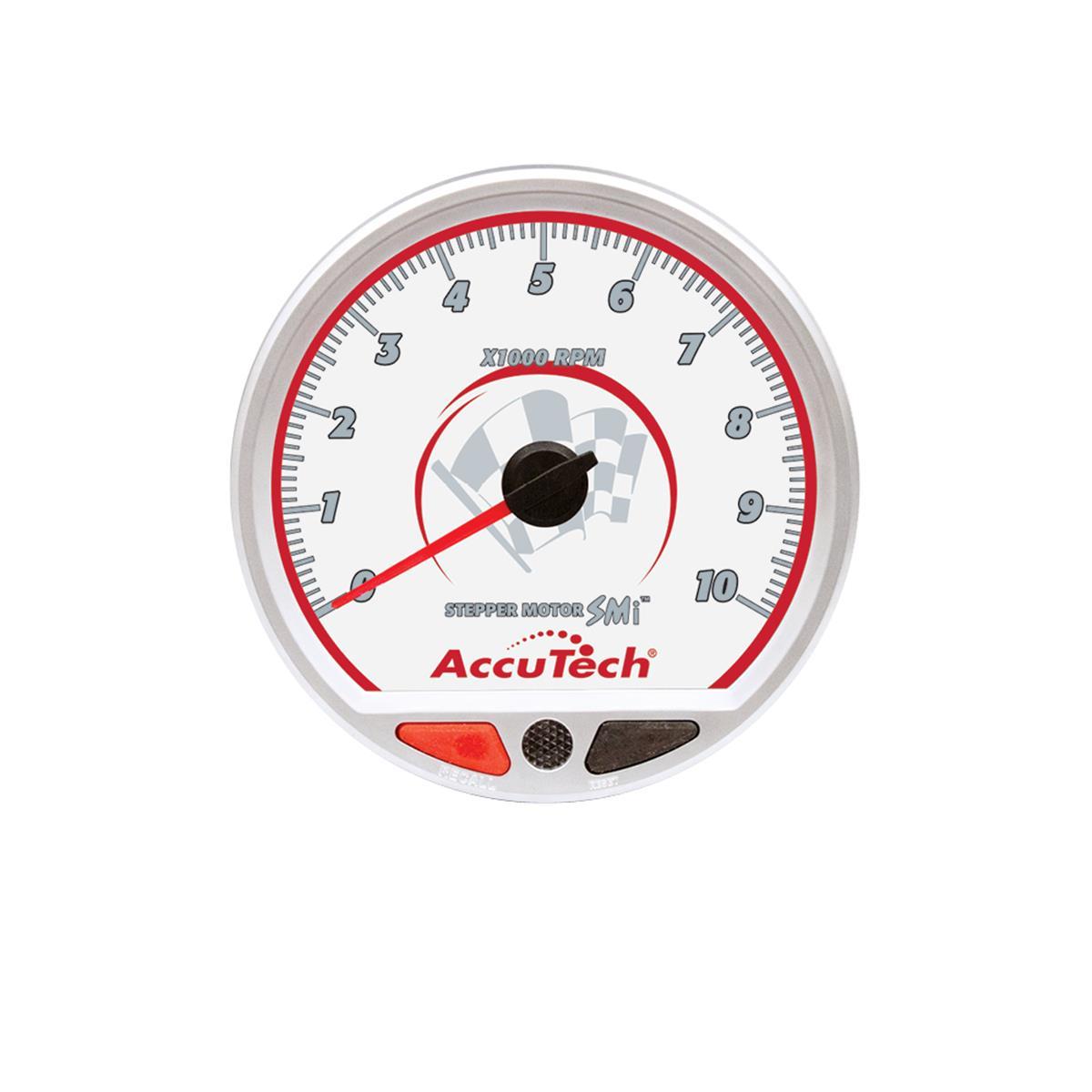 hight resolution of accutech smi stepper motor memory tachometer silver