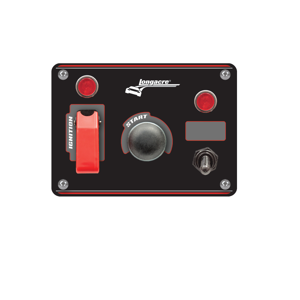 hight resolution of flip up start ignition panel w 1 acc pilot lights