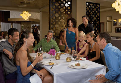 Breathless Punta Cana Resort & Spa - Restaurants & Bars - Enjoy a group dinner at Coquette
