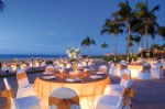 Dreams Los Cabos Suites Golf Resort & Spa - Weddings - Elegant dinner set-up on the beach for a Gala Event