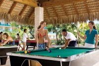 Dreams La Romana Resort & Spa - Activities - Teenagers can mingle and play pool at the Core Zone Teens Club