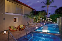 Dreams Palm Beach Punta Cana - Activities - The hydrotherapy area outside of the Dreams Spa by Pevonia offers a refreshing pool with hydrotherapy jets, a plunge pool and a Jacuzzi for guests to rejuvenate