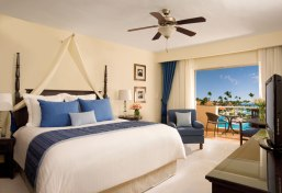 Dreams Palm Beach Punta Cana - Accommodations - The Deluxe Tropical View room offers daily refreshed mini bar, 24-hour room service, ceiling fan and a variety of luxurious bath amenities