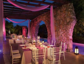 Dreams Punta Cana Resort & Spa - Weddings - El Patio Terrace Lounge Party