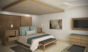 Dreams Playa Mujeres Golf & Spa Resort - Accommodations - Preferred Club Family Suite King