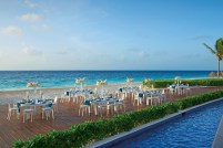 Dreams Riviera Cancun Resort & Spa - Weddings - Beachside Gala Dinner