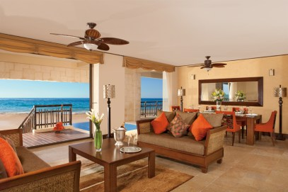 Dreams Riviera Cancun Resort & Spa - Accommodations - Presidential Suite Living Room