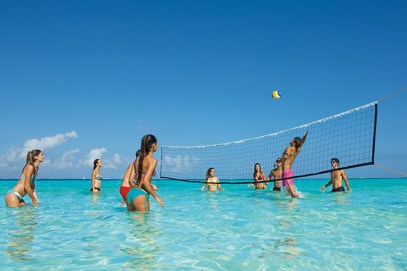 Dreams Sands Cancun Resort & Spa - Activities - Water Volleyball