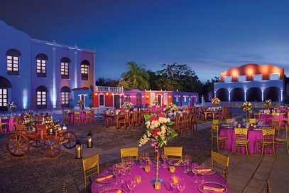 Dreams Tulum Resort & Spa - Weddings - Mexican Theme Party