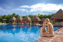 Now Sapphire Riviera Cancun - Activities - Preferred Club Pool Couple