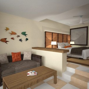 Sunscape Dominican Beach Punta Cana - Accommodations - Deluxe Suite 6