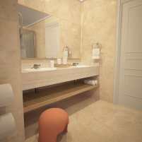 Sunscape Bavaro Beach Punta Cana - Accommodations - Deluxe Suite Bathroom