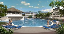 Sunscape Puerto Plata Dominican Republic - Activities - Main Pool Area