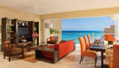 Now Jade Riviera Cancun - Accommodations - Governors Suite Living Room