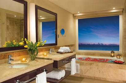 Now Jade Riviera Cancun - Accommodations - Jr. Suite Bathroom