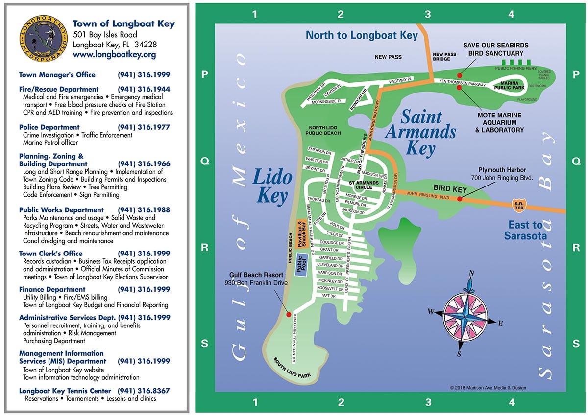 Longboat Key Map