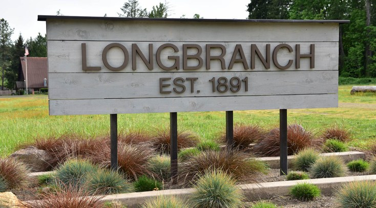 Longbranch, Washington sign