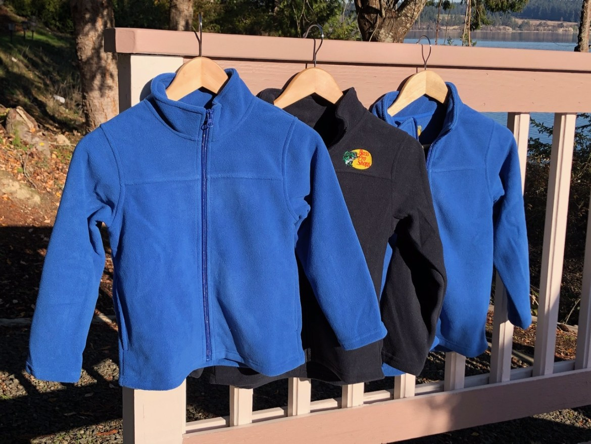 Longbranch Foundation donates fleece jackets for kids
