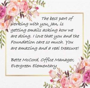 Bette McCord Letter
