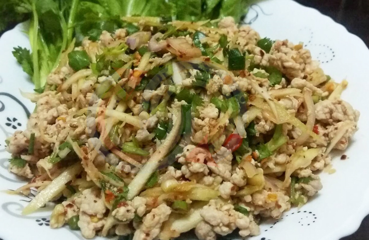 larb moo alone foods