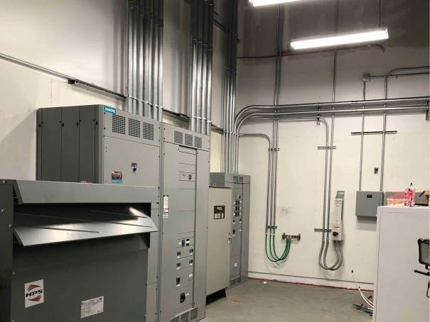Lonza Electrical Room