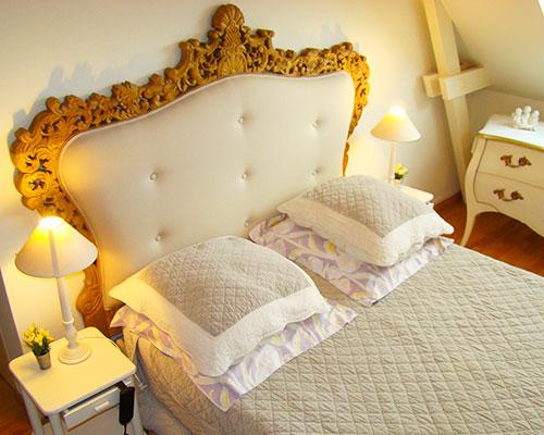 Chambre dhte traditionnelle  La Longre Du Plessis 44