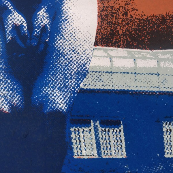 Reap the fruits of heaven - screen printed poster by Markus Samnell. Detail