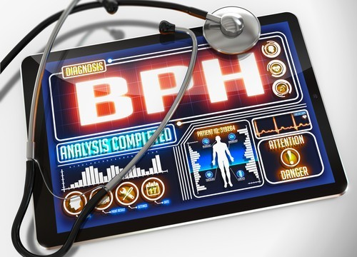 Medical diagnosis displayed on the tablet