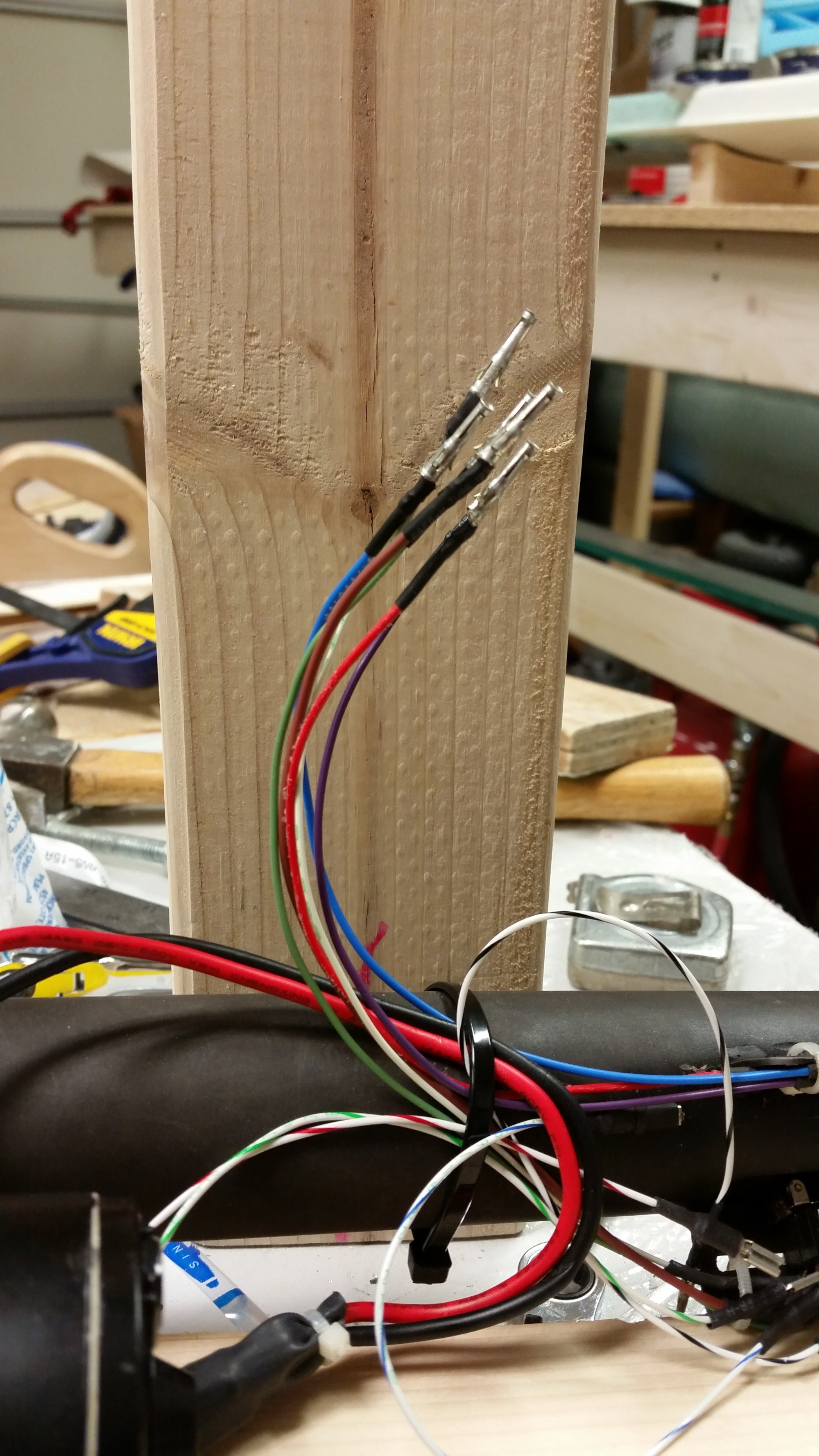 hight resolution of p1 wires prepped