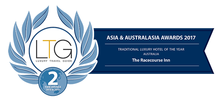 Luxury Travel Guide's Traditional Hotel Australia award - The Racecourse Inn, Longford