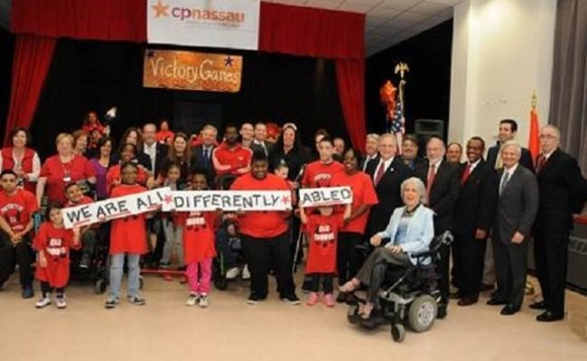 Mangano And Athletes In Wheelchairs Announce Games For The
