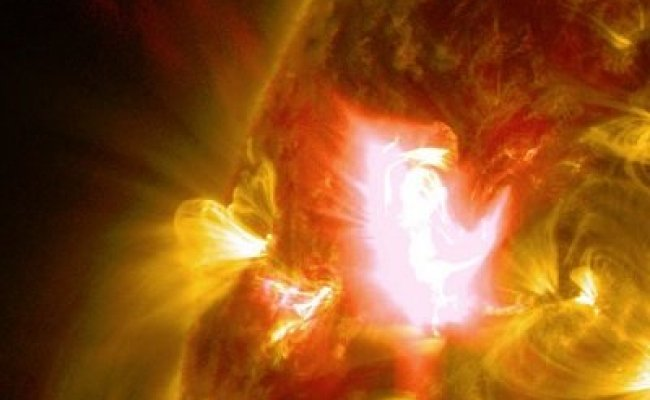 Stunning Footage Of April 2nd Solar Flare Released By Nasa