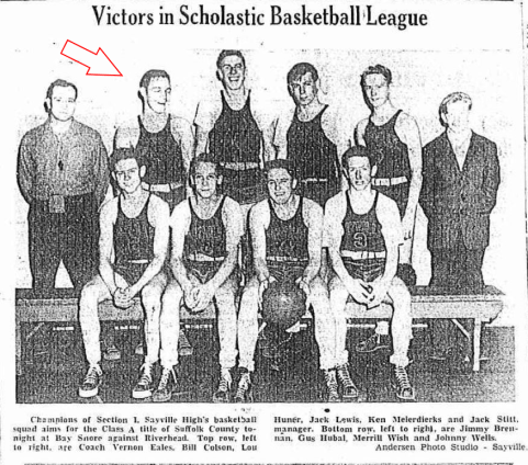 1947 Sayville Basketball Team