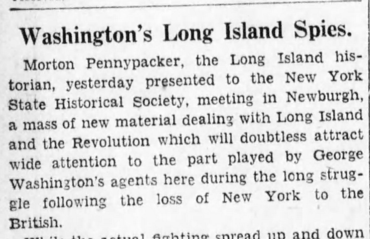 Morton Pennypacker: Long Island Spy Hunter